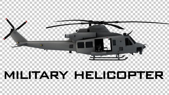 Military Helicopter - 4