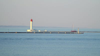 The Lighthouse in the Harbor
