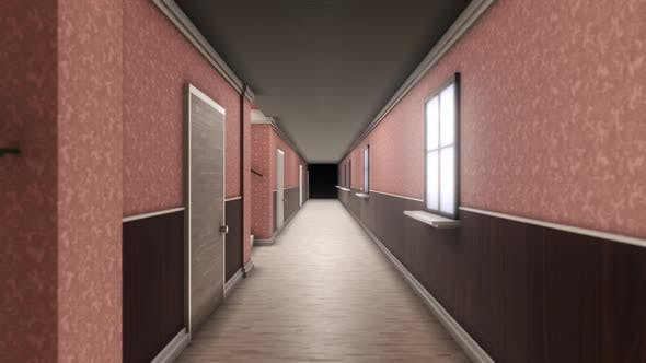Thumbnail for Abstract interior inside hotel building