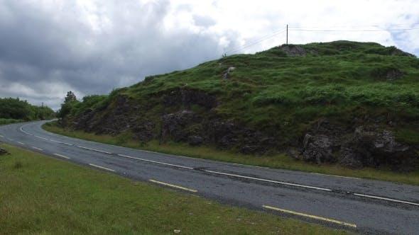 Thumbnail for Asphalt Road At Connemara In Ireland 23