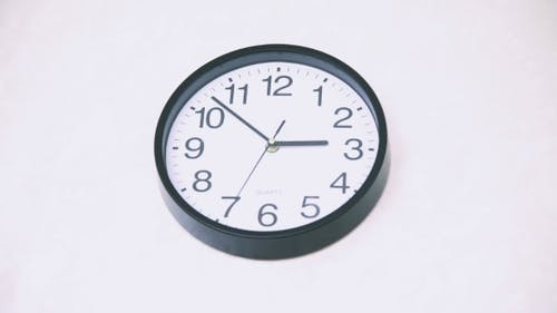 Animated Clock Counting Down 14 Hours