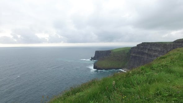 Thumbnail for Cliffs Of Moher And Atlantic Ocean In Ireland  46