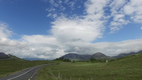 Thumbnail for Asphalt Road At Connemara In Ireland  27