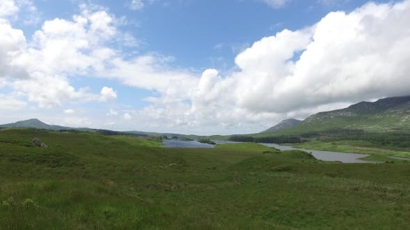 Thumbnail for View To Lake Or River At Connemara In Ireland 30