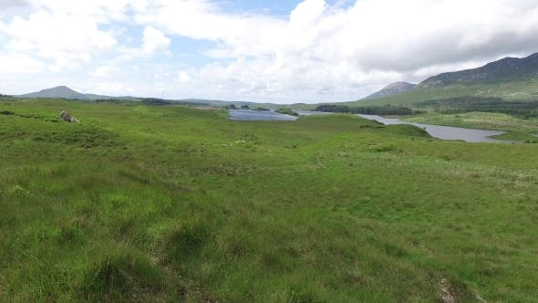 Thumbnail for View To Lake Or River At Connemara In Ireland 32