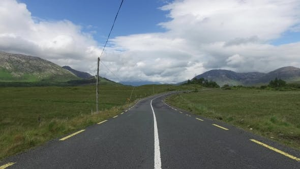Thumbnail for Asphalt Road At Connemara In Ireland  28