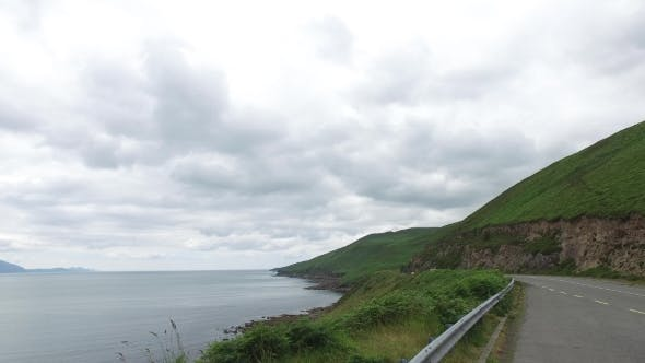 Thumbnail for Asphalt Road At Wild Atlantic Way In Ireland 72