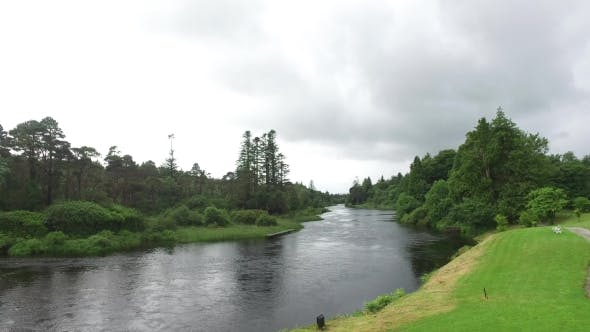 Thumbnail for View To River In Ireland Valley 8
