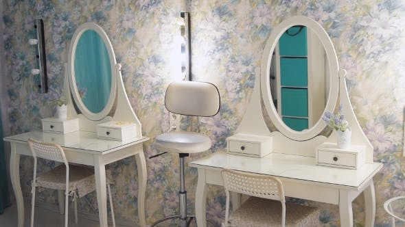 Thumbnail for A Bright Makeup Studio. Comfortable Studio For Makeup Master And Hair Stylist