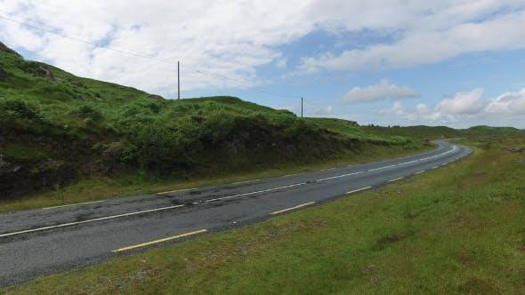 Thumbnail for Asphalt Road At Connemara In Ireland  24