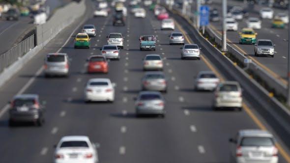 Traffic In Daytime