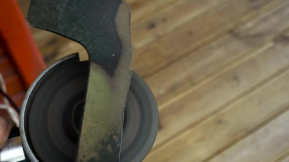 Thumbnail for Angle Grinder Working And Sparkle