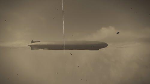 German Zeppelin Flying - 1940
