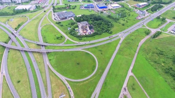 Thumbnail for Aerial View Of Big Roadcross