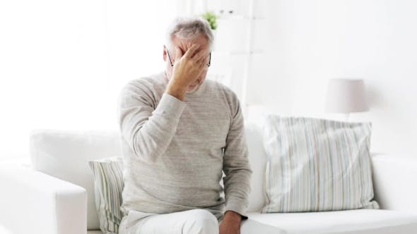 Thumbnail for Senior Man Suffering From Headache At Home 105