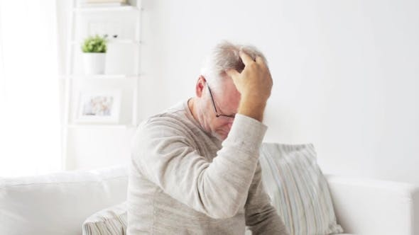 Thumbnail for Senior Man Suffering From Headache At Home 30