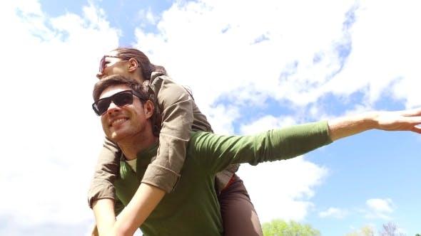 Thumbnail for Happy Couple Having Fun Outdoors 10