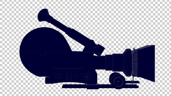 Thumbnail for 3D Movie Camera Outline