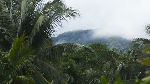 Thumbnail for Landscape of Mountains and Sky. Camiguin Island.