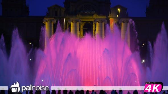 Thumbnail for Barcelona Fountain Light Music Show