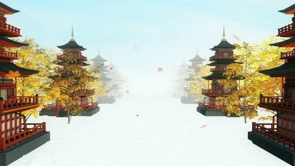 Thumbnail for Japanese Temple 4k