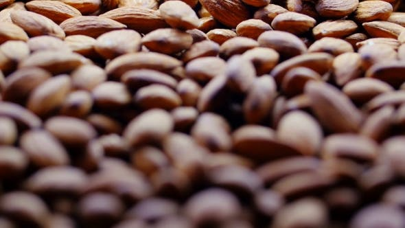 Thumbnail for Whole Almond Nuts for Background