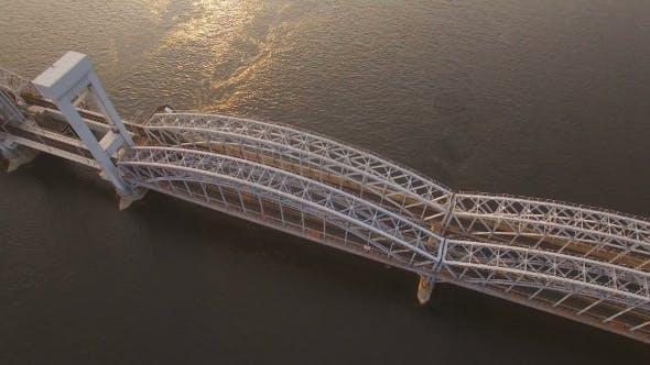 Thumbnail for Finland Railway Bridge Across The Neva River