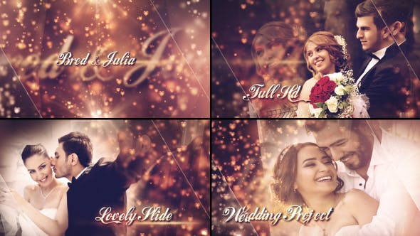 Thumbnail for Lovely Wedding Slideshow