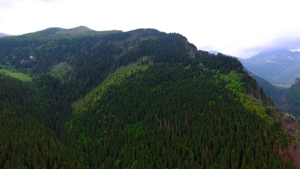 Thumbnail for Aerial View Of Mountains Valley