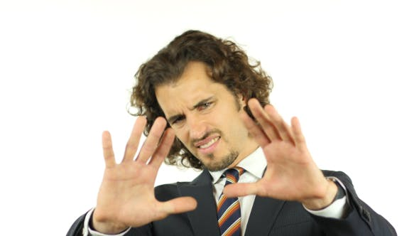 Thumbnail for Rejecting Gesture of Businessman, Hate, Disliking