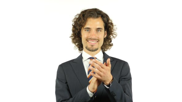 Cover Image for Business Success, Applauding, Clapping