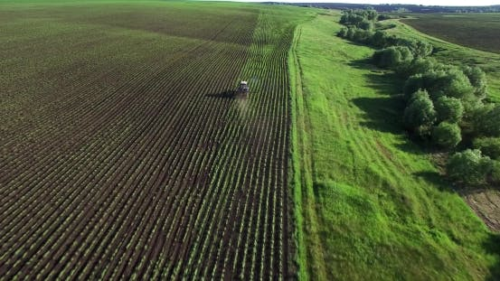 Thumbnail for Tractor Plowing a Field