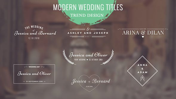 Thumbnail for Wedding Titles