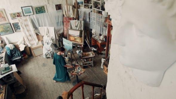 Thumbnail for Artist In Her Studio