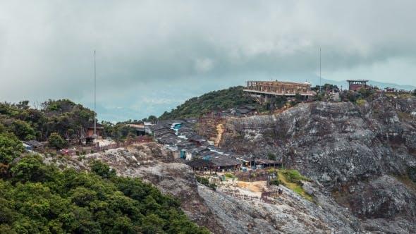 Thumbnail for Walk Trail Beside Tangkuban Perahu Volcano Crater In Bandung, Indonesia.   - Java, Indonesia, June
