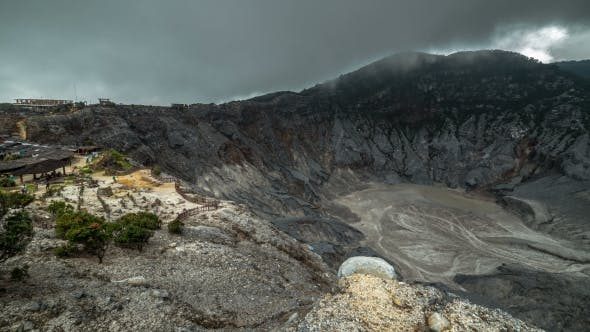 Cover Image for Tangkuban Parahu Is An Active Volcano