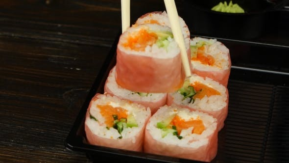 Layout Of Rolls To Send To The Consumer.