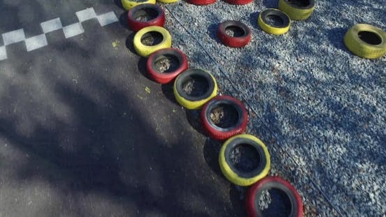 Thumbnail for Kart. Overhead Shot