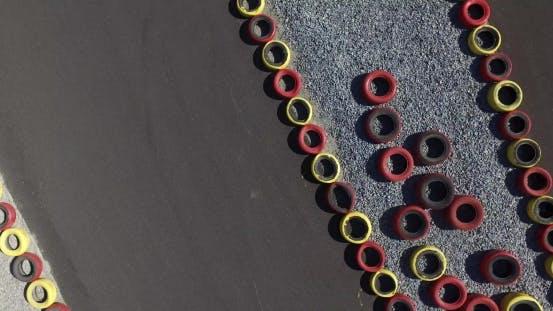 Thumbnail for Kart Racing. Aerial Shot