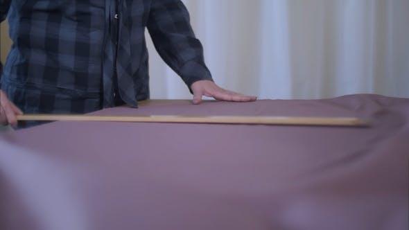 Thumbnail for Maßgeschneiderte Messung der erforderlichen Menge an Material für Nähtuch