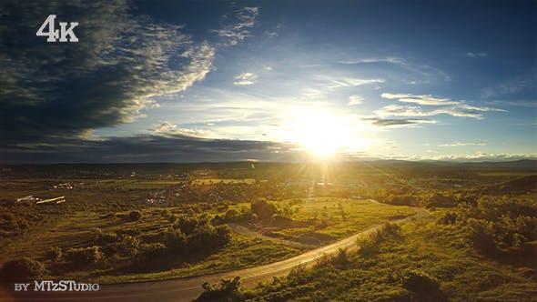 Thumbnail for Aerial Sunset