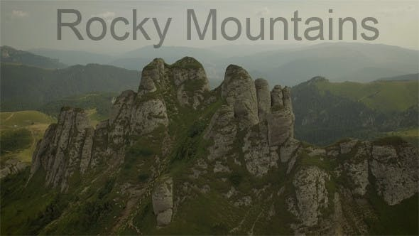 Thumbnail for Flying Above Mountains