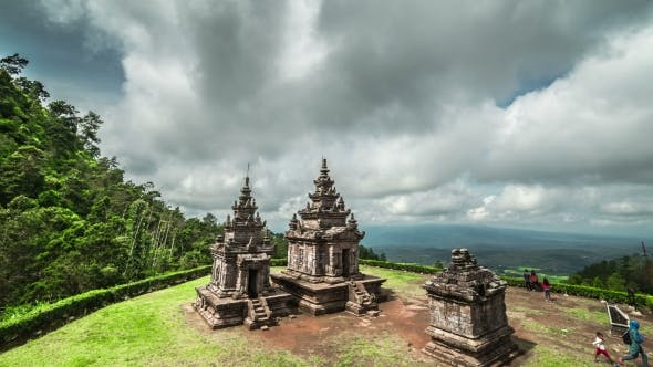 Thumbnail for Ancient Hindu Temple Gedong Songo In Central Java, Indonesia