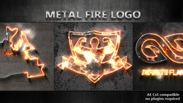 Thumbnail for Metal Fire Logo