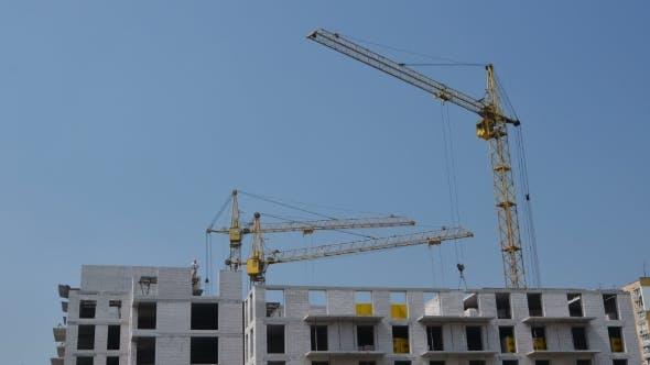 Thumbnail for Cranes Movement. Building