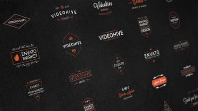 25 Animated Titles & Badges & labels