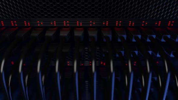 Thumbnail for Servers, Flashing Red Lights and Connectors