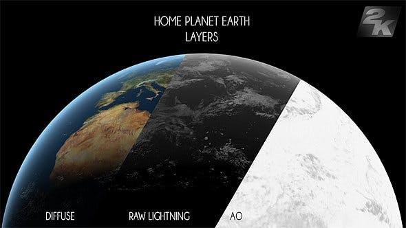 Thumbnail for Planet Earth Layer Pack V3 - 3 Pack