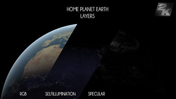Thumbnail for Planet Earth Layer Pack V4 - 3 Pack