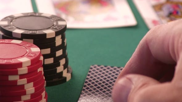 Thumbnail for Poker Chips, Ace and King